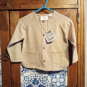 NWT Zara Baby knit cardigan 6-9 months